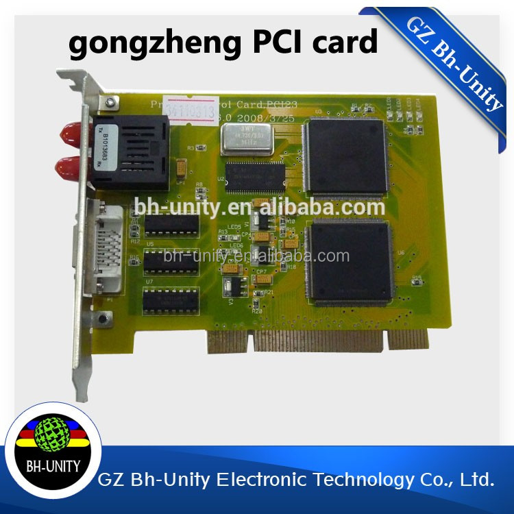 cheapest price!!gongzheng solvent printer spare parts for 3212AK PCI card