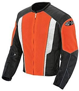Joe Rocket Phoenix 5.0 Men's Mesh Motorcycle Riding Jacket (Orange/Black, XX-Large) by Joe Rocket