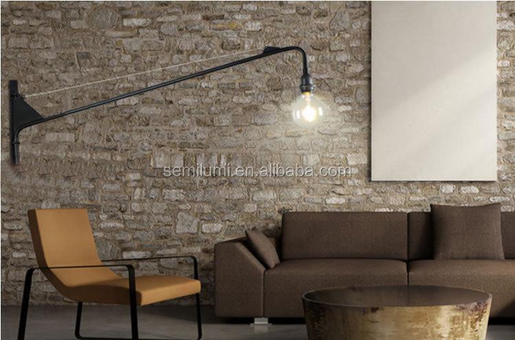 Lampada da parete orientabile lampada da parete dell annata sconce