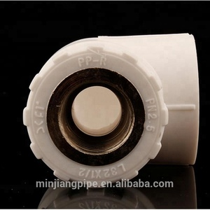 MEIJIANG 90 Degree Ppr Male Elbow With Threaded Copper