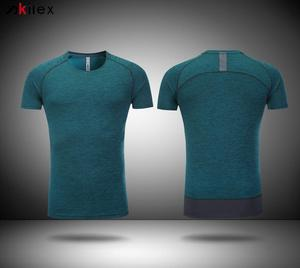 Custom new design dry fit lightest high quality mens running t shirts for men
