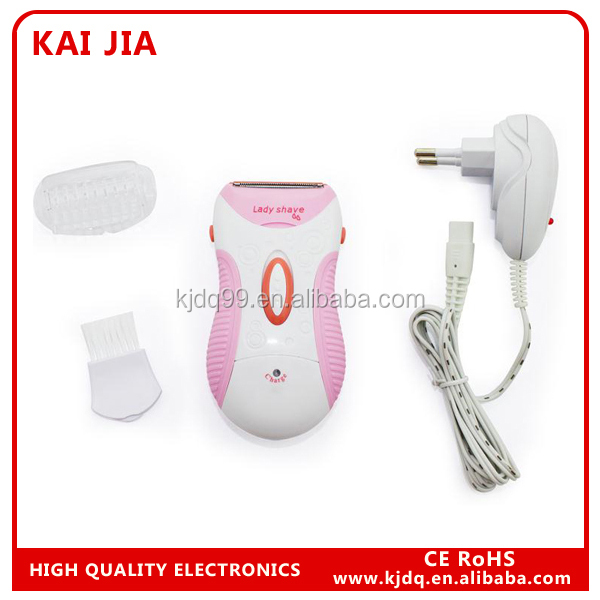 waterproof electric pink shaver trimmer mini lady shaver