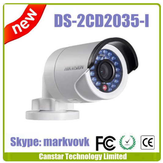 2 years warranty Hik vision CCTV camera DS-2CD2035-I