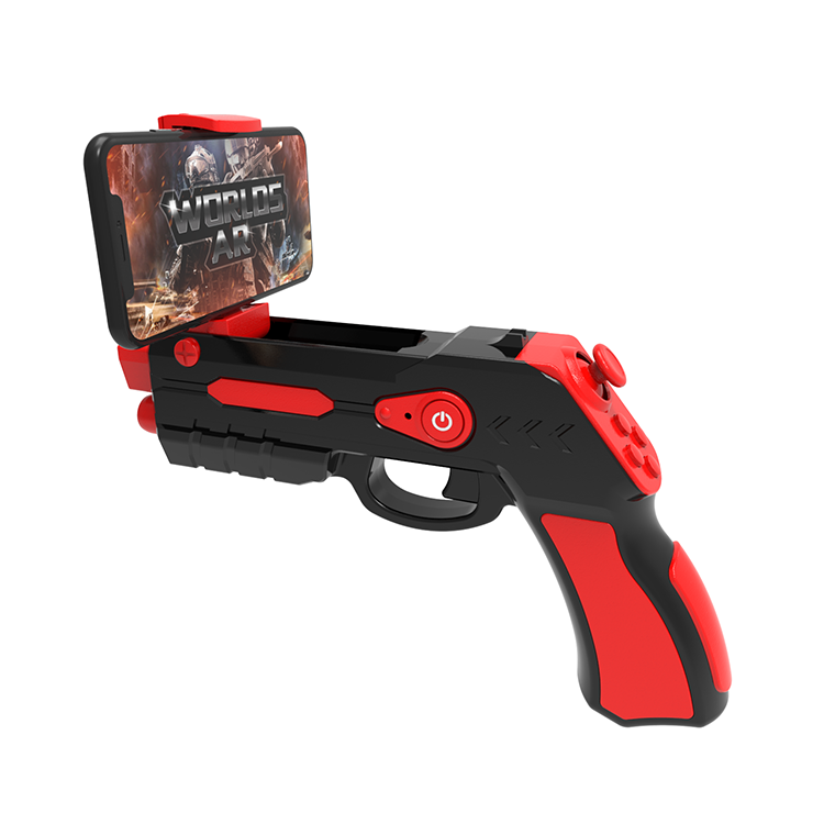 2018 Hot Selling Augmented Reality Gun Patented AR Toy Gun With Massive AR Game IOS Support