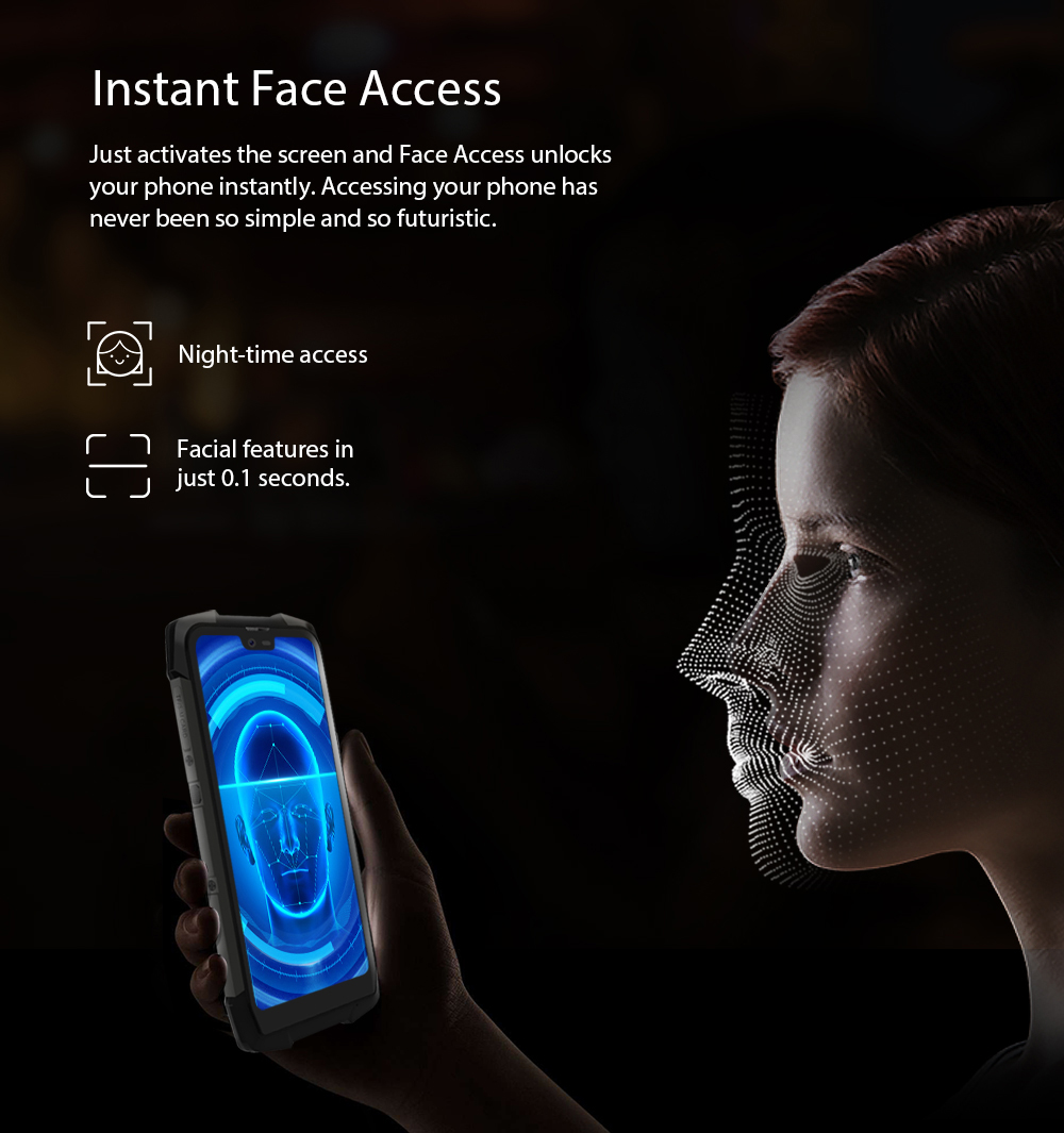 KOMAY Blackview BV9700 Pro Helio P70 6GB+128GB Android 9 0 Smartphone  16+8MP Night Vision Dual Camera IP68 Waterproof Mobile, View NIGHT VERSION