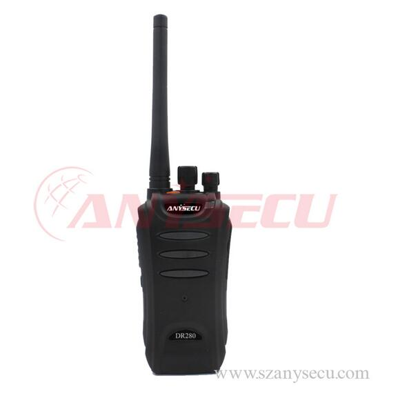 High Quality Movement ANYSECU DR280 interphone For Office China Supplier with dPMR Digital Radio TDMA system high walkie talkie