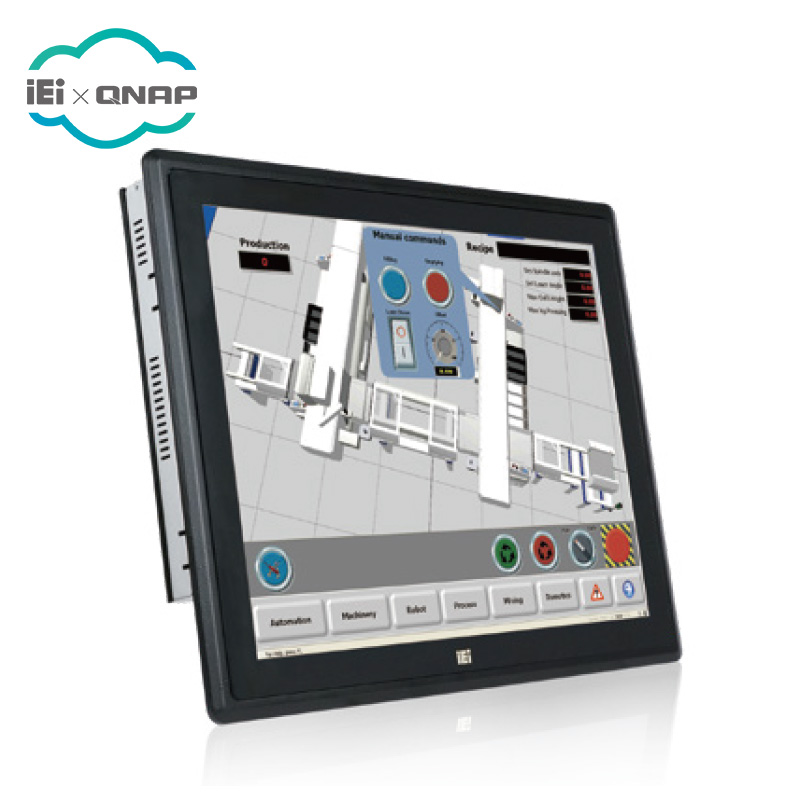 IEI PPC-F15B-BT 15 인치 방식 Capacitive Touch Panel PC 와 인텔 셀러론 J1900