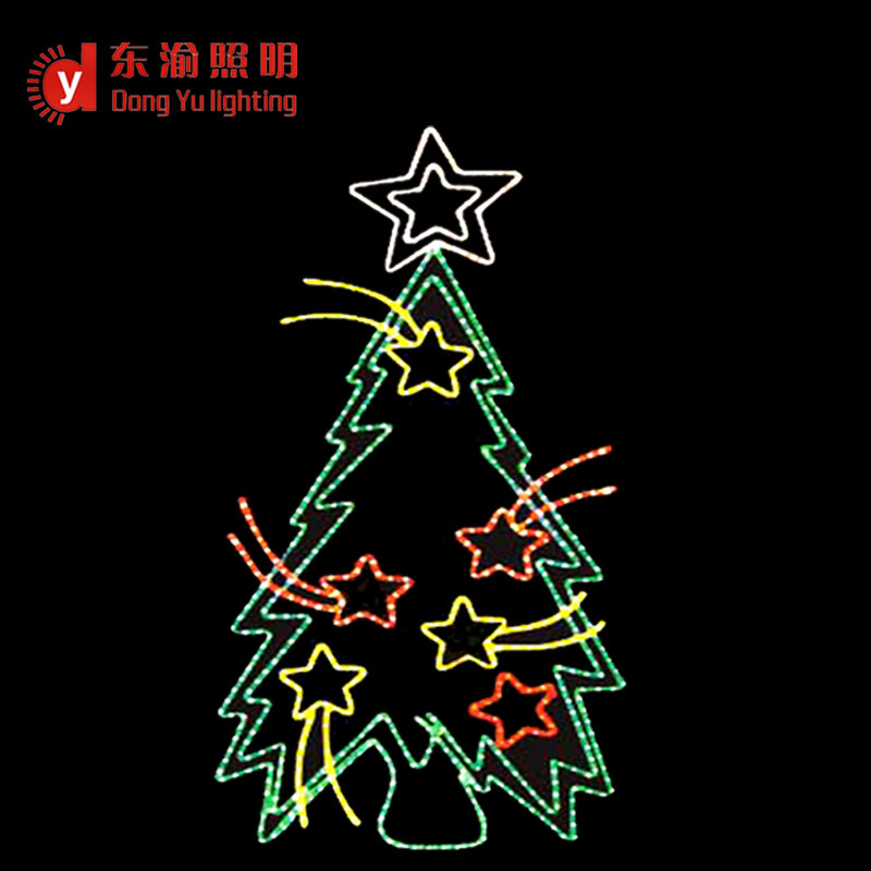 High quality commercial grade 2d sparkling led rope light christmas high quality commercial grade 2d sparkling led rope light christmas tree for wall decoration aloadofball Gallery