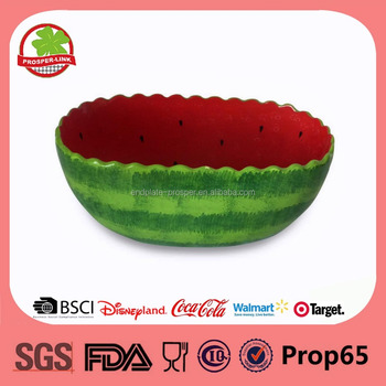 Ceramic Fruit Bowl In Watermelon Bowl Design - Buy Ceramic Fruit ...