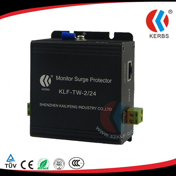 12V/24V/220V Power/Ethernet Lightning Protection for CCTV Cameras