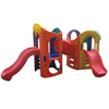 Children Favorite large indoor plastic slide kids games indoor playground equipment