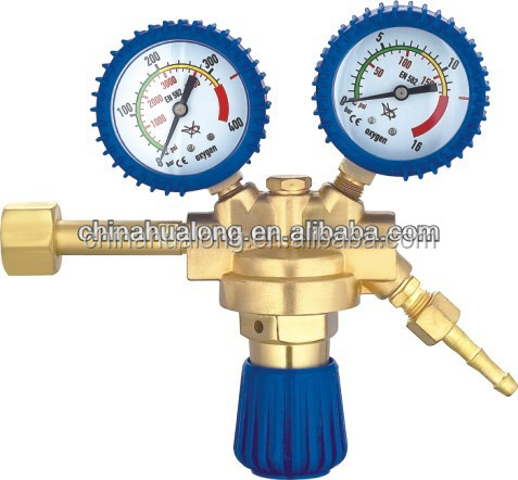 Acetyleen en Propaan Gas Regulator, gemaakt in China lasser mig zuurstof cilinder regulator klep