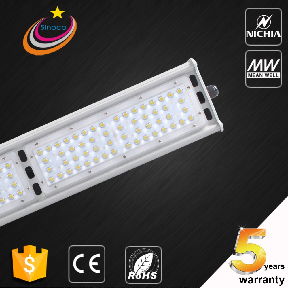 Project Use Smart Control High Lumen 50W-300W Original Meanwell Driver LED Linear High Bay Light