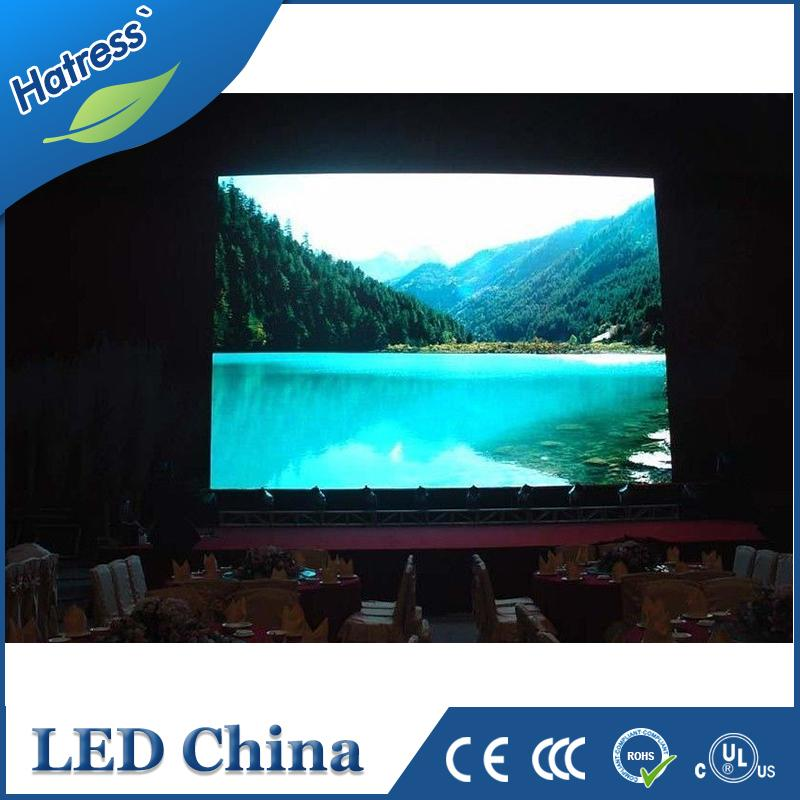 indoor usage korea full color pitch 4mm led display screen video wall