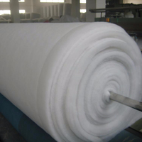 100% Polyester Material and Staple Fiber Type wadding for quilts