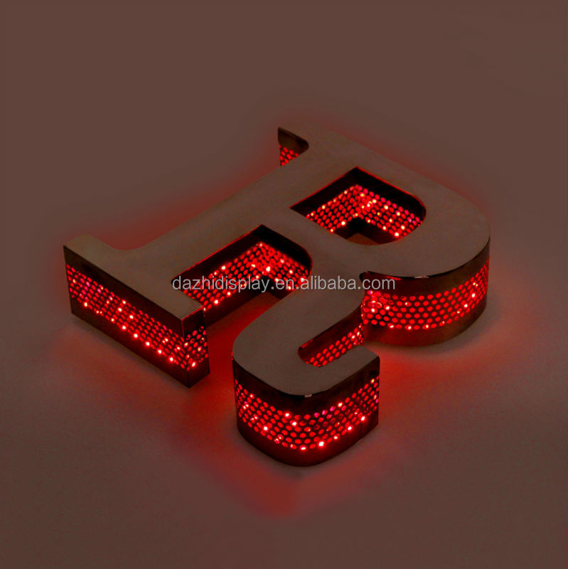 modified led backlit sew on letters wholesale,magnetic different styles alphabet letters