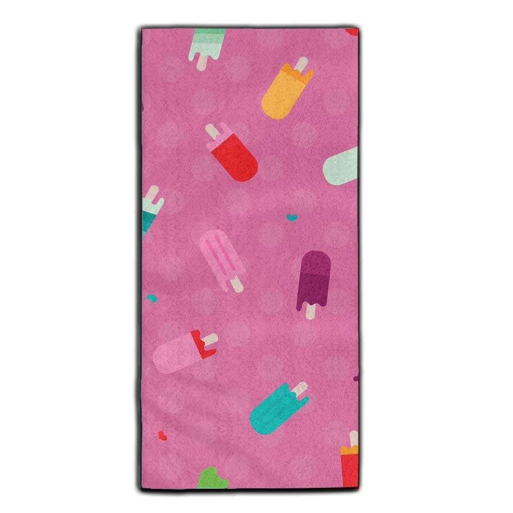 Baerg Microfiber Super Absorbent Face Towel Summer Popsicle Hair Care Towel Gym And Spa Towel