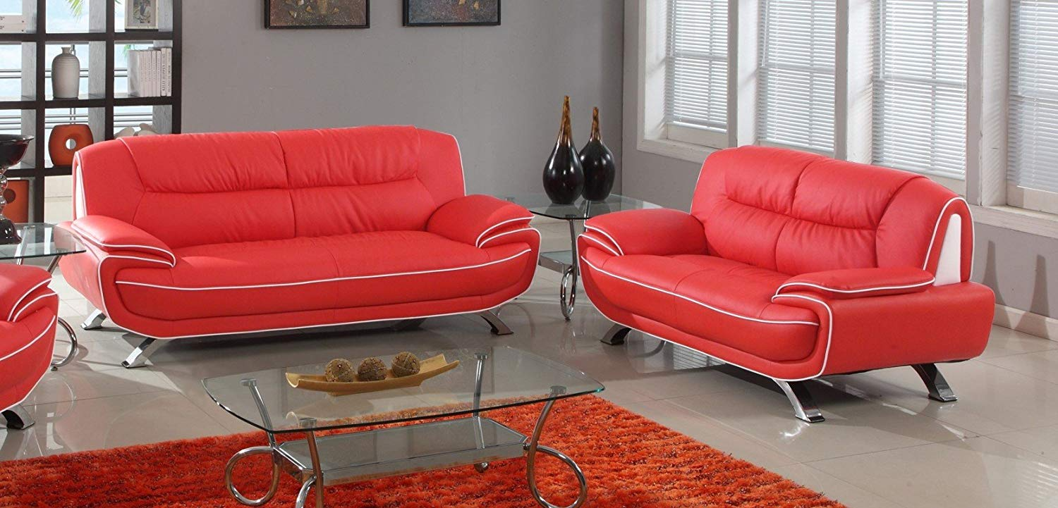 Cheap Red Leather Sofa, find Red Leather Sofa deals on line ...