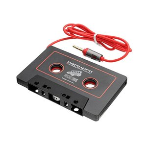 Audio Cassette Tape Adapter Aux Cable Cord 3.5mm Jack for MP3 iPod CD Player iPhone 3 4 5 6 Samsung Galaxy S3 S4 S5 S6 S7 S8