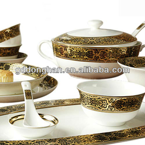 used household items hotel royal chinaware dinner set