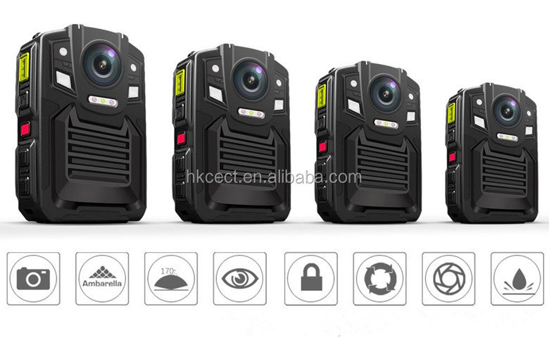 Surveillance GPS body camera With Russian/Turish Menu