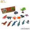 2018 All kinds of colored growing animals ,natural world ocean animal growing toys miniature animal