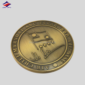 Antique bronze metal custom high quality coins medal,3D relief metal zinc alloy casting medallion commemorative coin