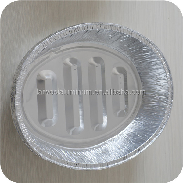 Microwave/Oven Roast Chicken Aluminum Foil Pan price bbq Grill Plate