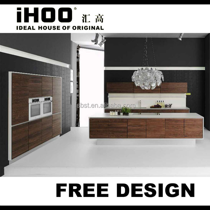 New Design Solid Wood Kitchen Cabinets Pakistan Style