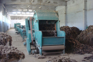 wool scouring line sheep wool washing cashmere scouring combination machine
