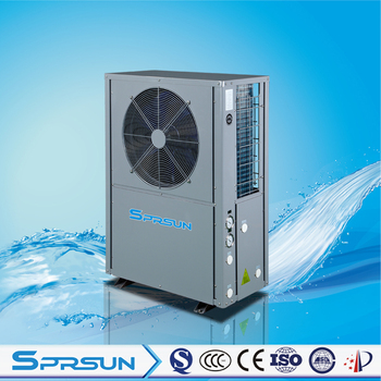 SPRSUN EVI Heat Pump Air Conditioner for Floor Heating and Home Cooling