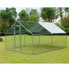 Factory Direct Sale Large Metal Hen House Cage Run Cheap Chicken Coop