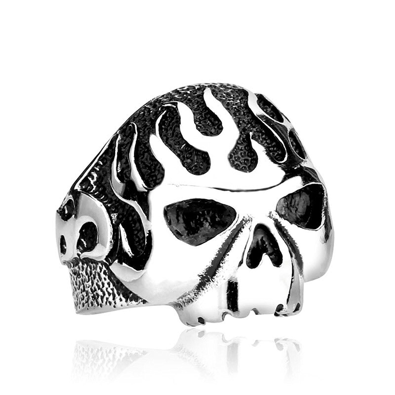 male skull black stainless com for ring steel quality jewelry product dhgate skeleton high men from rings