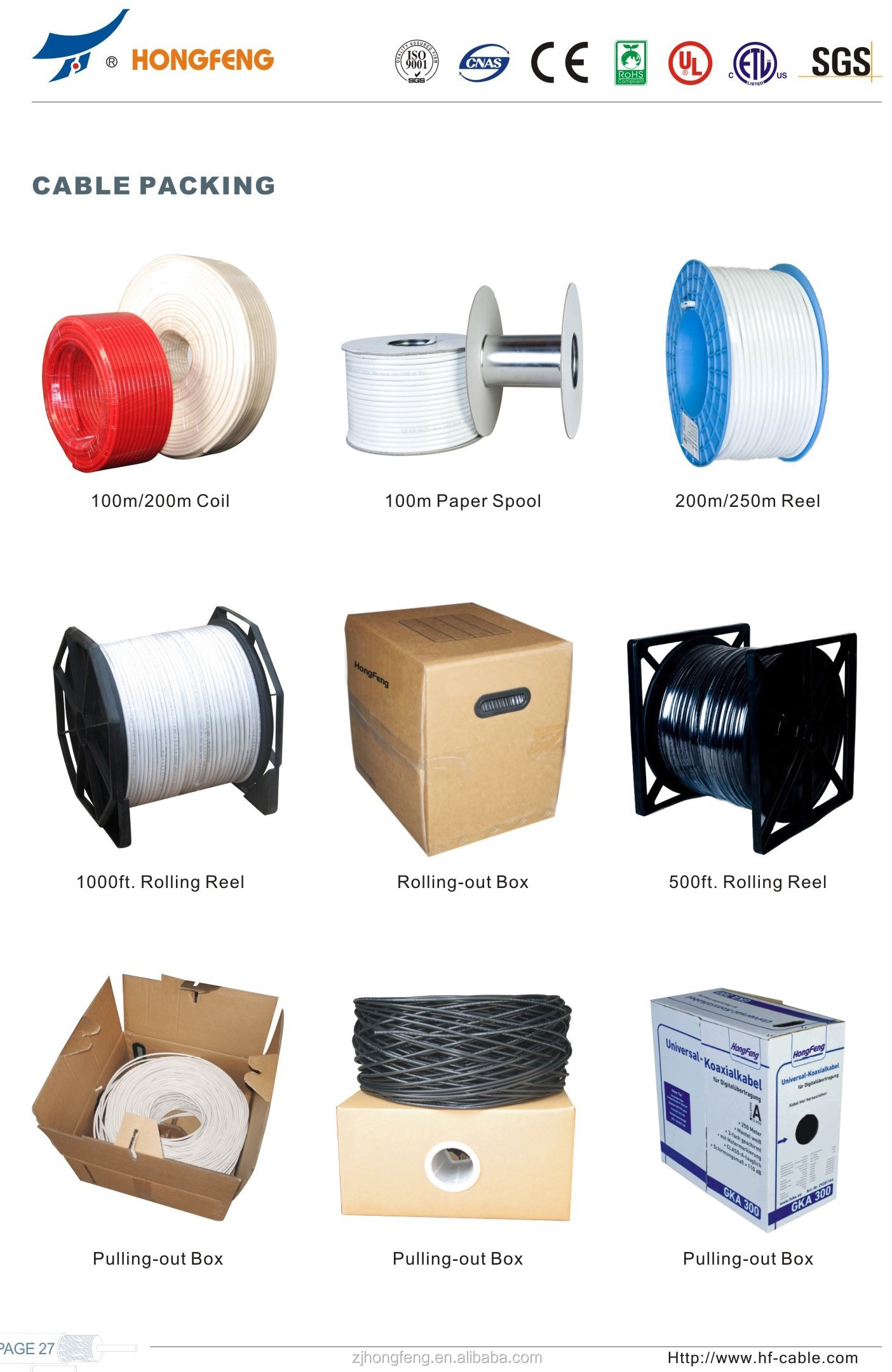 Cable Packing