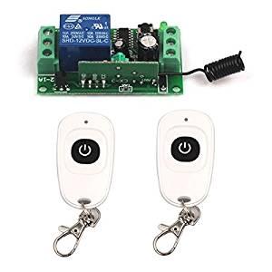 Buy HonsCreat 315Mhz Wireless RF Switch DC 12V 4CH Channel