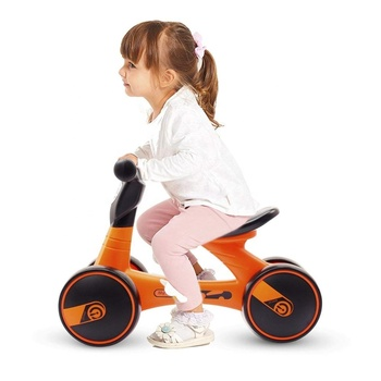 Baby Balance Bike Bicycle Ride On Toys 1 Year Old Baby Walker 10-24 Months No Pedal 3 Wheels Toddler Infant Bike