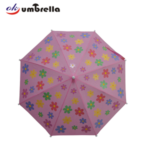 Color changing safety open children magic umbrella from China