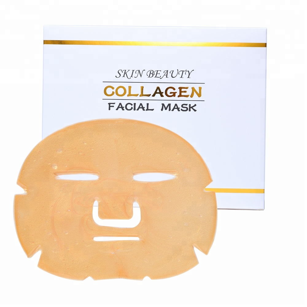 24 K Or Collagène Masque Facial En Cristal Hydratant Or Visage Masque