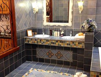 Ceramica opaca blu piastrelle bagno pavimenti e rivestimenti buy