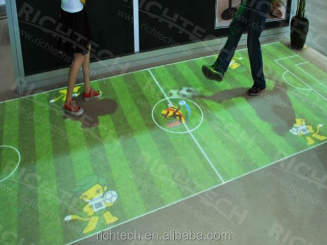 Interactive floor projector/advertising display/wedding accessory