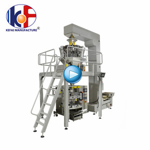 High efficiency KEFAI potato chips snack packing machine manufacturers with stable system