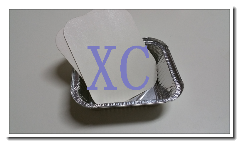 2550 Hs Code 7615109090 Aluminum Foil Food Containers