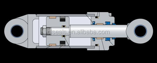 Hydraulic Seal Kit Hammer Breaker Seal Kit Excavator Parts Seal Kits