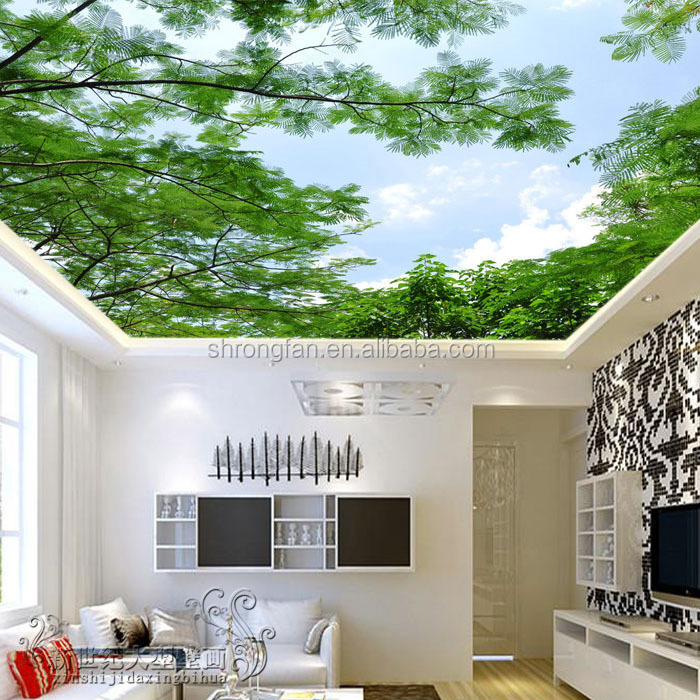 Ceiling Wallpaper, Ceiling Wallpaper Suppliers and Manufacturers at  Alibaba.com