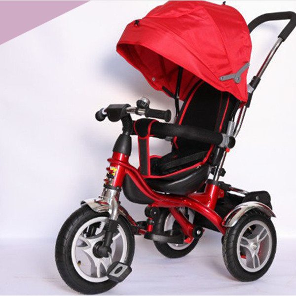 4/1 push car Child tricycle with steel fram