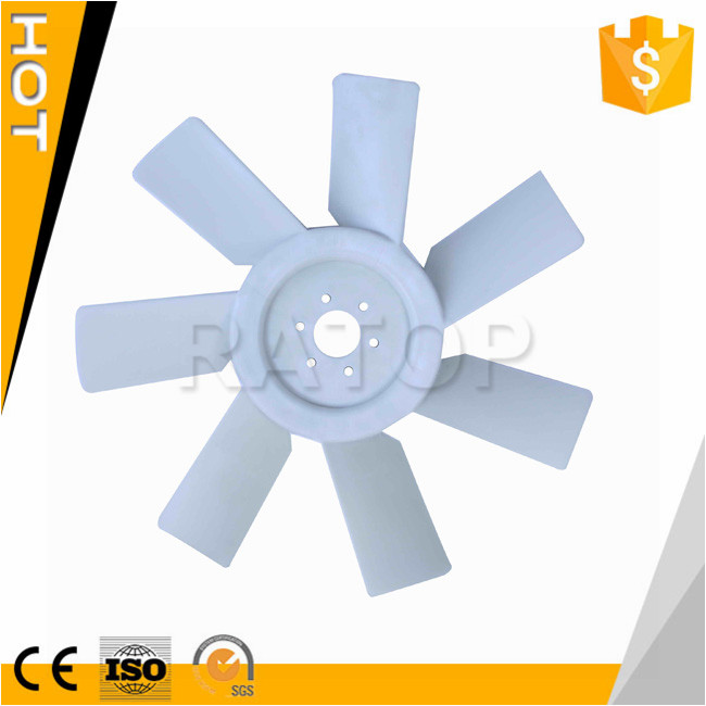 PC200-3 6D105 excavator 600-625-6560 600-625-0700 electric motor cooling fan blade