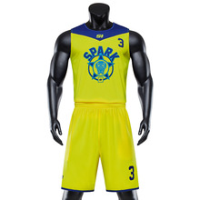 Mens Custom Basketball Uniform Kits Sport Kleidung Blank Jede Farbe Team Basketball Jersey Sets