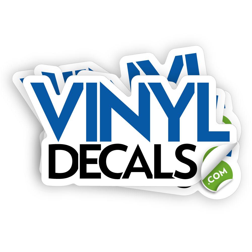 European hot sale metallic sticker die cut vinyl sticker vinyl die cut sticker best quality