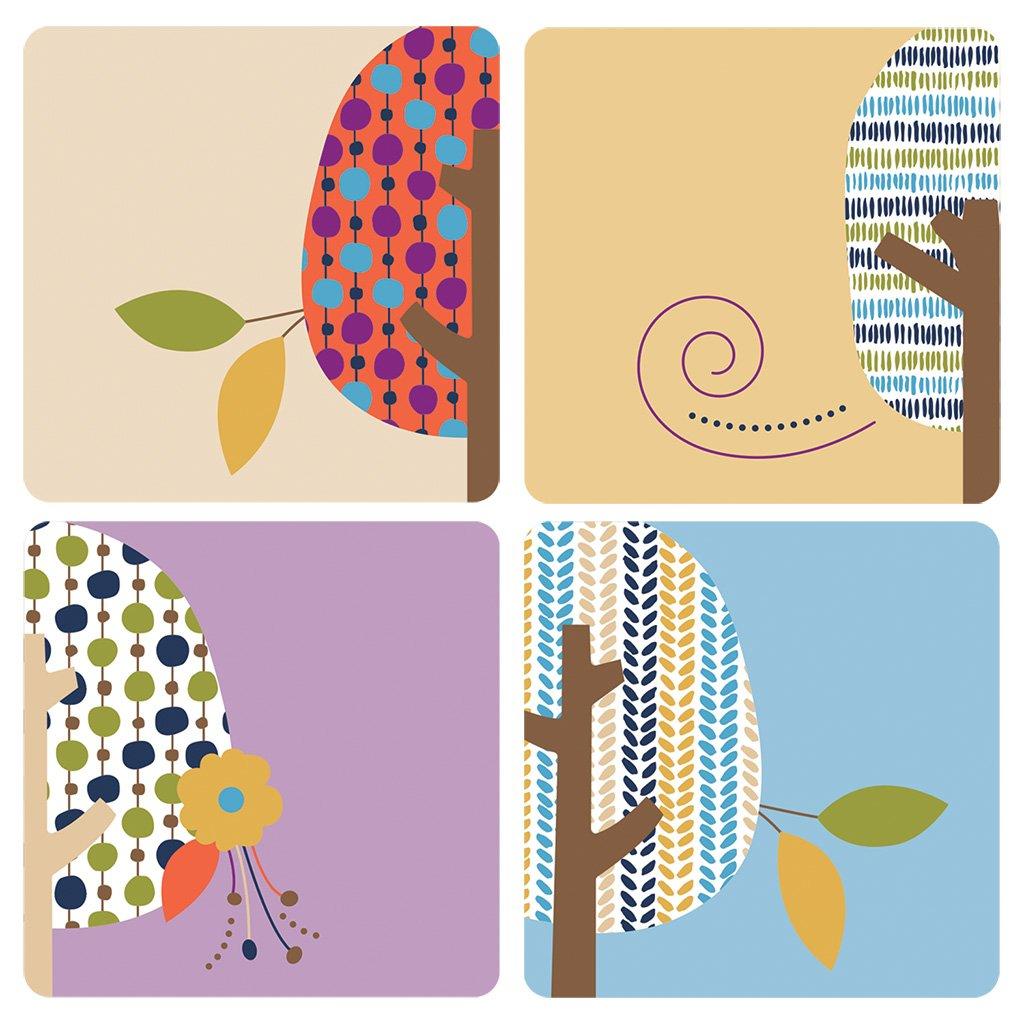 Carson Dellosa You-Nique Trees Mini Cut-Outs (120205)
