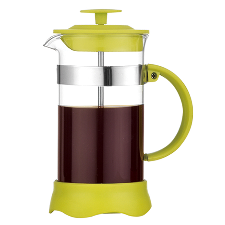 prix raisonnable Nouvelle liste grand assortiment Amazon Promotion Gift Reusable Borosilicate Glass Cafetiere Coffee Maker -  Buy Colored Coffee Maker,Coffee Plunger,Unique Coffee Makers Product on ...